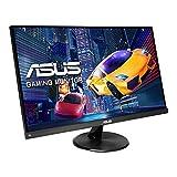 "2021 Asus 23.8"" 144Hz Full HD IPS Gaming Monitor, 1ms FreeSync Extreme Low Motion Blur Eye Care, DisplayPort, HDMI, D-Sub, Black + Oydisen HDMI Cable Bundle"