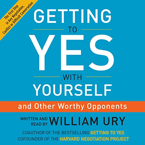 Getting to Yes with Yourself audiobook cover art