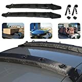 TIROL® Auto Air Inflatable Roof Rack Cargo Carrier Top Roof Rack Pads