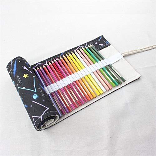 Caja de lápices de gran capacidad NUEVO CANTILLA COMPLETAMIENTO BOLSA BOLSA DE LÁPIGO Papelería (Color : 36)