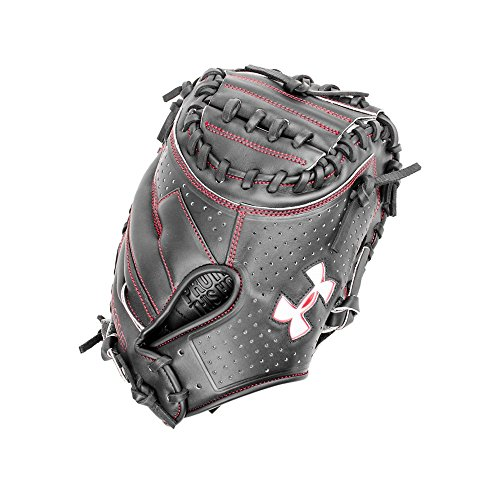 Under Armour Baseball UACM-200Y Deception Series Baseball Catching Mitt, Black, Youth 31.5