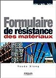 Formulaire de résistance des matériaux