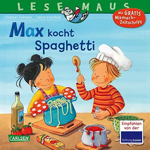 LESEMAUS 62: Max kocht Spaghetti (62)