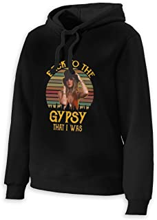 Woman's Stevie Nicks Back to The Gypsy That I was Cotton Pullover Hoodie