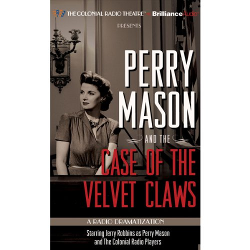 Perry Mason and the Case of the Velvet Claws cover art