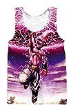 A. M. Sport Camiseta Tirantes Culturismo de Dragon Ball para hobre. Camiseta Bola de...