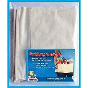 2 Pocket Canvas Waist Apron (3-Pack)