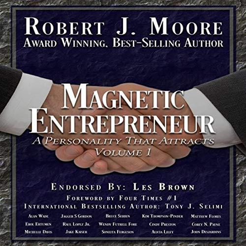 Magnetic Entrepreneur audiobook cover art