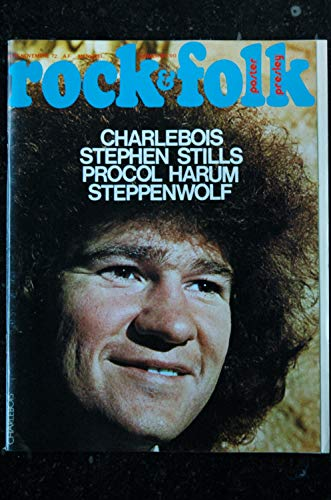 ROCK & FOLK 070 1972 NOVEMBRE COVER CHARLEBLOIS STEPHEN STILLS PROCOL HARUM STEPPENWOLF POSTER ILLUSTRATION ELVIS PRESLEY