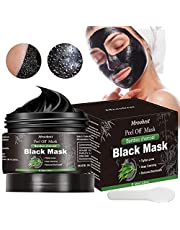 Blackhead Mask, Peel Off Mask, Charcoal of Mask, Deep Cleansing Facial Mask with Activated Carbon, Purifying Face Mask, Deep Skin Clean Purifying Acne