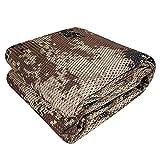 GRVCN Camo Burlap Cradle Mesh Fabric - 75D...
