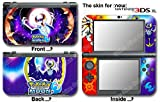 Pokemon Moon Sun Go Lunala Skin Sticker Cover Decal #2 for NEW Nintendo 3DS XL