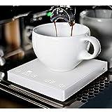 Báscula digital de café con temporizador, multifunción, báscula de cocina, báscula de alimentos, báscula electrónica...