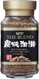 UCC Japan's No.1 Coffee Brand Popular Charcoal Roasted Sumiyaki Instant Coffee Blend, Tastes Just Like Fresh Brewed (1.58 oz, 45g)