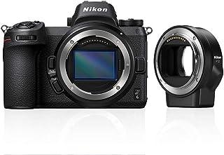 Nikon Z 6 compact systeemcamera + FTZ adapter - 24,5 MP FULL-FRAME sensor - 12 bps - Grote Z lens vatting voor hoogste kwa...