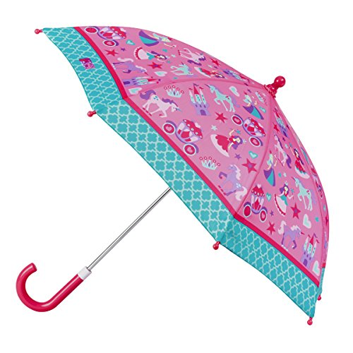 Stephen Josheph Gifts unisex child Stephen Joseph All Over Print Umbrella, Princess, One Size US