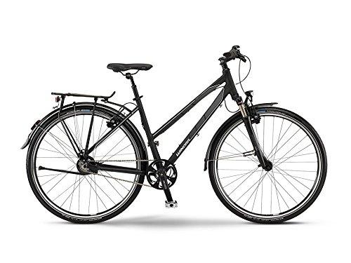 Winora Labrador Damen-Trekkingrad 14-Gang Rohloff Nabenschaltung schwarz/grau/weiß matt RH 48 Modell 2015