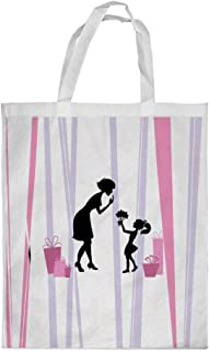 Mother's Day Gift Printed Shopping bag, Small Size