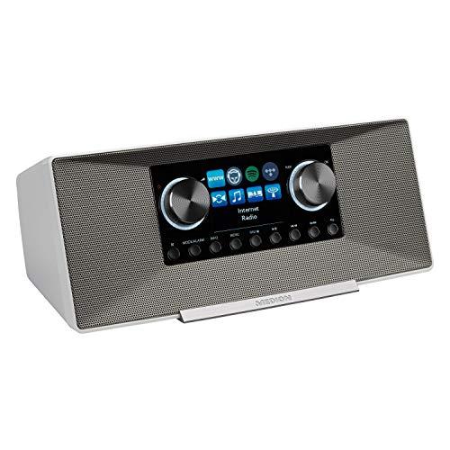 MEDION P85289 Internetradio mit DAB+ (WLAN, UKW,...