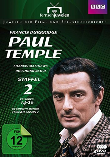 Francis Durbridge - Paul Temple - Staffel 2 (4 DVDs)