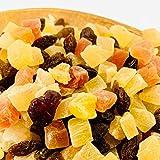 Eight Shop ドライフルーツ ミックス トロピカルフルーツ 1kg 中国産不使用 5種 パイン パパイヤ メロン レーズン クランベリー
