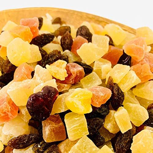 Eight Shop ドライフルーツ ミックス トロピカルフルーツ 500g 中国産不使用 5種 パイン パパイヤ メロン レーズン クランベリー