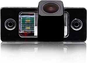 Navinio Car Backup Camera Waterproof Rear-View License Plate Rear Reverse Parking Camera for Cayenne VW Touareg Golf V Skoda Fabia Passat B5 Tiguan Polo Santana (Starlight Super pro Camera)