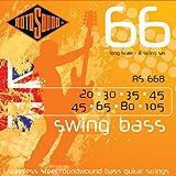 Rotosound Stainless Steel Standard Gauge Roundwound Bass Strings (20 30 35 45 45 65 80 105)