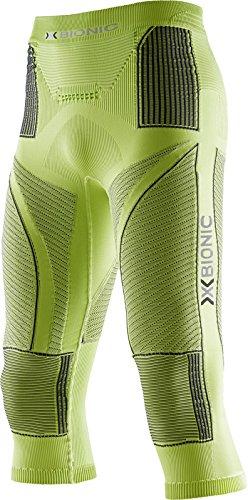 X-Bionic - Running-Kompressionsunterwäsche für Herren in Green Lime/Charcoal, Größe XXL