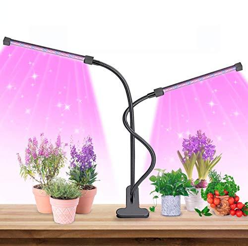 MOREASE Lampe de Croissance pour Plantes, Lampe Horticole Chronométrage AUTO - ON/OFF, Lampe Plante Intérieur Lampe Plante Verte