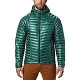Mountain Hardwear Ghost Whisperer Hooded Down Jacket - Men's Thunderhead Grey Small