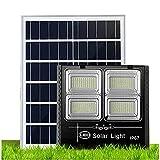 Foco Solar Led Exterior JardíN Impermeable 300w 400w 500w 600w 700w, Sistema De Carga Pwmluces Solares Jardin, BateríA De Litio De Gran Capacidad Farolas Solares Exterior Potente[Energy Cla(Size:300W)