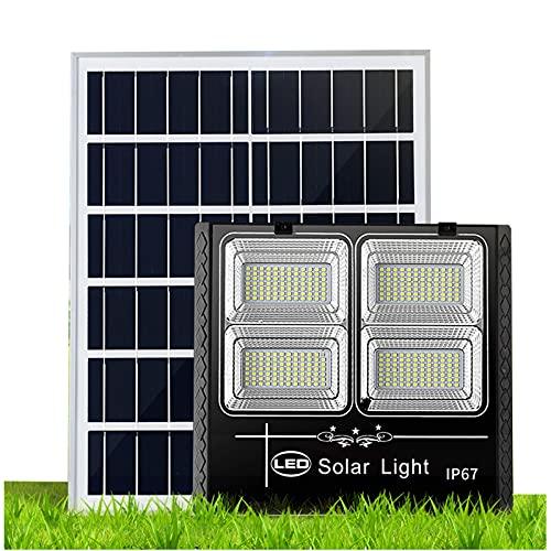 Foco Solar Led Exterior JardíN Impermeable 300w 400w 500w 600w 700w, Sistema De Carga Pwmluces Solares Jardin, BateríA De Litio De Gran Capacidad Farolas Solares Exterior Potente[Energy Cla(Size:700W)
