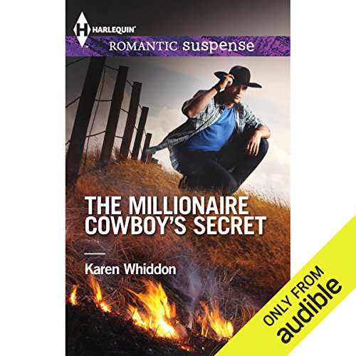The Millionaire Cowboy's Secret audiobook cover art