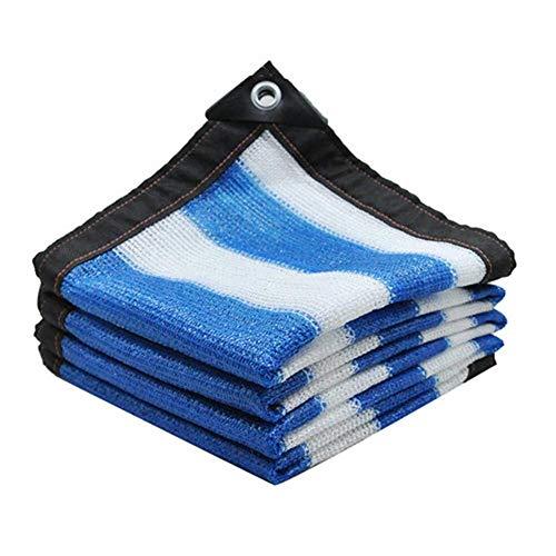 HYLH Protector de Pantalla Toldo Protector Solar 6PinWeaving AntiUV Mejor Transpirable Balcón Exterior Personalizable (Color: A, Verde: 3X5M)