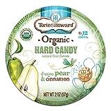 Torie & Howard Candy Tin Pear & Cnnmn 2 OZ
