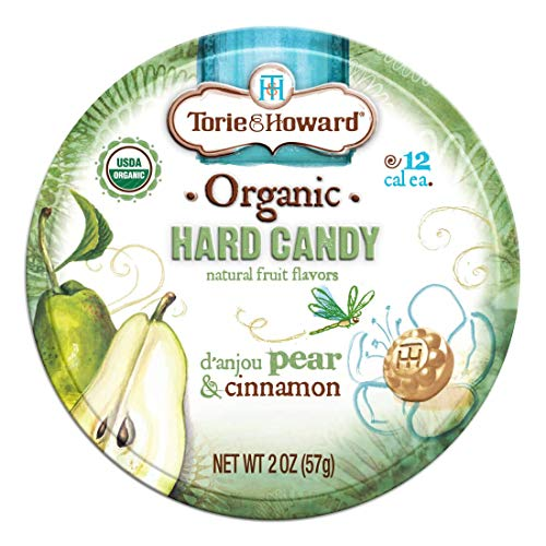Torie amp Howard Candy Tin Pear amp Cnnmn 2 OZ