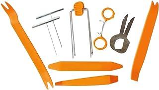 Garneck Conjunto de ferramentas de remoção de acabamento de carro com 12 peças, kit de ferramentas para aparar painel, por...