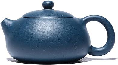 JIAZHOUMA 210 ml Yixing fioletowa glina Xishi dzbanki do herbaty w kształcie kuli zaparzacz do herbaty ręcznie robiony zes...