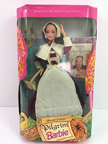 MATTEL BARBIE poupée brune - AMERICAN STORIES COLLECTION - LA FERMIERE - special edition pilgrim Feast of friendship AMITIE 1994