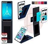 Hülle für Ulefone Paris Tasche Cover Hülle Bumper | Blau | Testsieger