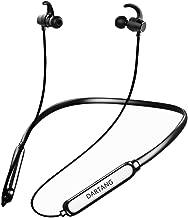 DARTANG Bluetooth Headphones Neckband Waterproof IPX7, Wireless Earbuds Sport, Richer Bass HiFi Stereo in-Ear Earphones HD w/Mic, 12 Hours Playing Time,Noise Cancelling Headsets (Black)