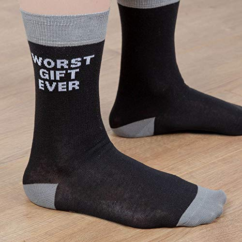 The Ministry Of Humour Worst Gift Ever Mens Socks Size...