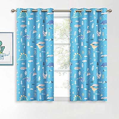 KGORGE Printed Blackout Curtains - Moroccan