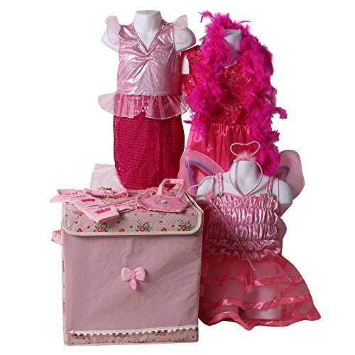 Making Believe Girls Classic Princess Costume Dress Up Trunk