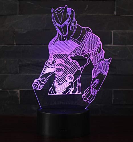 3D Illusion Nuit Lumière Win-Y LED Bureau Table Lampe 7 Couleur Tactile Lampe Maison Chambre Bureau Décor pour Enfants D'anniversaire De Noël Cadeau (OMI 1)