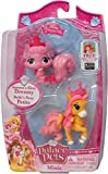 Palace Pets Minis 2 Figures: Aurora's Kitty Dreamy and Belle's Pony Petite by PALACE PETS