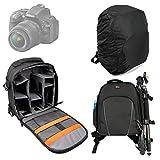 DURAGADGET Sac à Dos en Nylon résistant à l'eau pour appareils Photos Nikon D5000,...
