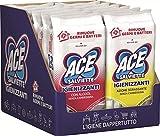 ACE Toallitas desinfectantes Mix Alcohol + desengrasantes, caja de 7 paquetes de alcohol y 5 paquetes desengrasantes, 480 toallitas