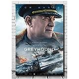 Lanruru Greyhound 2020 Film Tom Hanks Wandkunst Poster